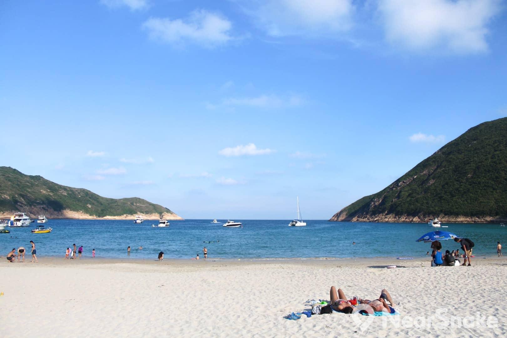 在浪茄灣靜聽海浪聲,豔陽下睡個午覺,懶洋洋又過一天。