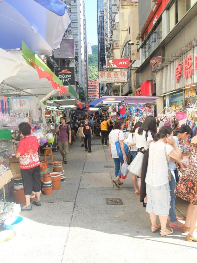 這裡是太原街的街口,驟眼看會以為只是一般露天市集,豈料原來內有乾坤!