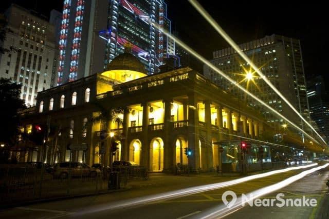 終審法院大樓夜景 縮圖
