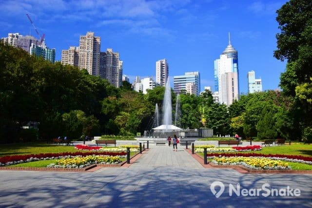 香港動植物公園水池 縮圖