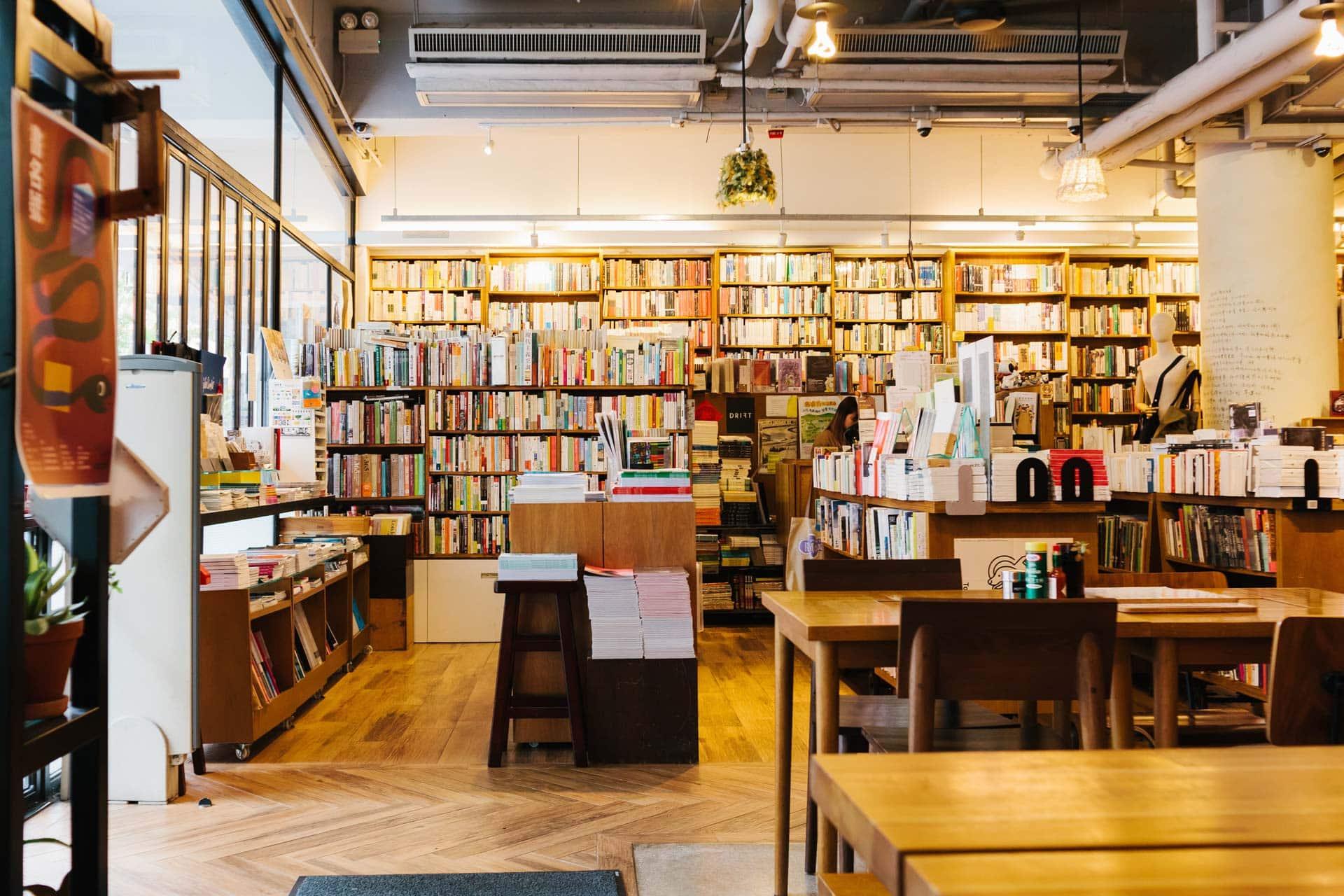 百老匯電影中心戲院旁的 Kubrick,是集咖啡室、書店、精品店、展覽於一身的文化場所。