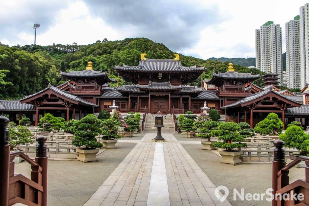 志蓮淨苑是現時全球最大的手造木構建築群。