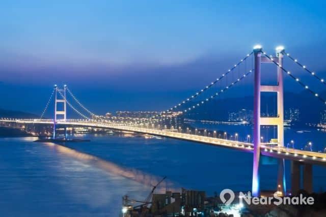 青馬大橋夜景 縮圖