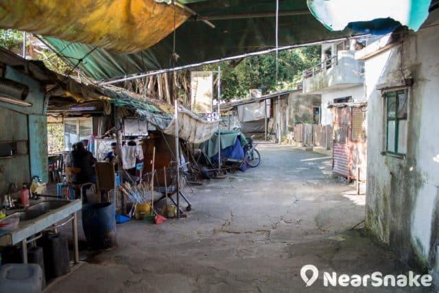渡頭灣村原住民大多過著簡樸的生活。