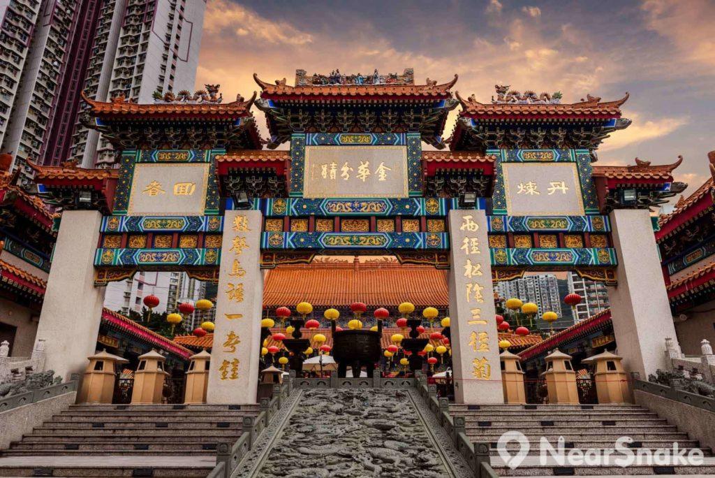 黃大仙祠與上環文武廟、沙田車公廟、佛堂門大廟,並列為香港四大廟宇。