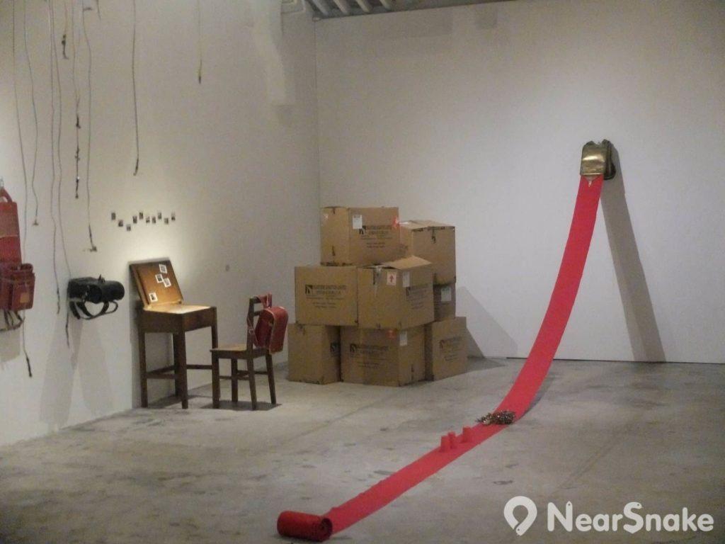 油街實現 Oil 內有 2 間展覽廳,雖並不開放租貸申請,惟也經常主動邀請知名藝術家舉辦展覽。