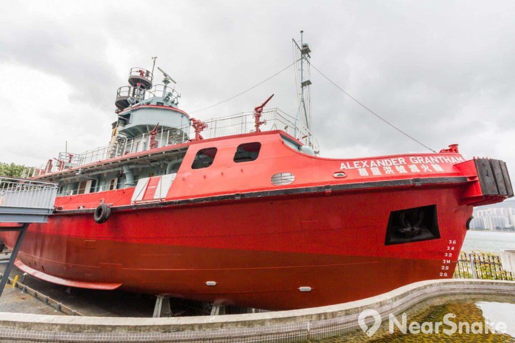 葛量洪號在退役前,一直是亞洲最大的滅火輪。