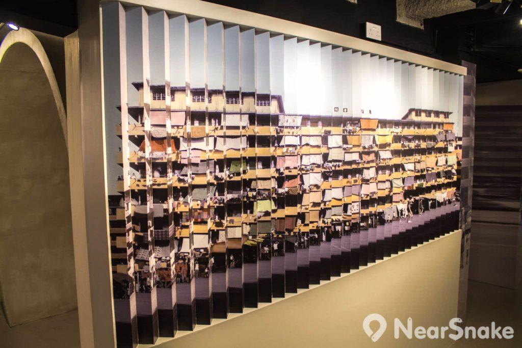 美荷樓生活館出的照片經悉心設計,令訪客有不同體驗。