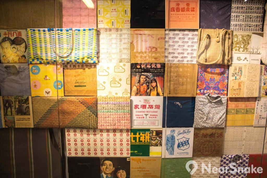 展館內展出老香港時代的舊式物品,不少是由美荷樓前居民捐出。