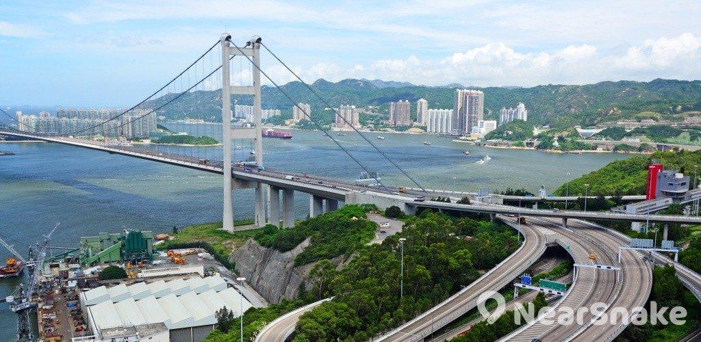 香港青馬大橋 新外貎一覽