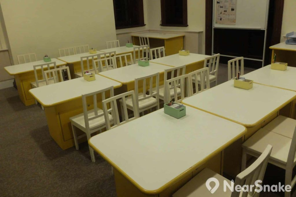 孫中山紀念館內設有多個視象教室,可供團體舉辦同的講座之用。