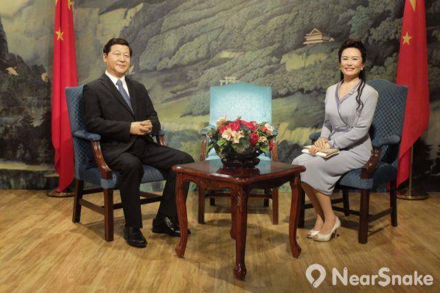 中共中央總書記、國家主席、中央軍委主席的習近平與妻子彭麗媛