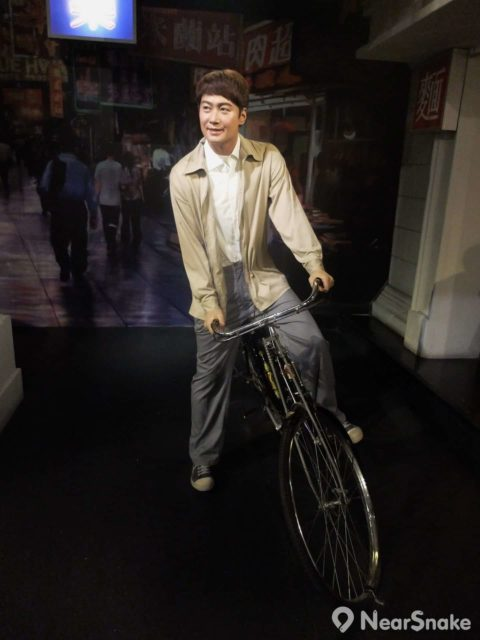 《甜蜜蜜》的黎明開單車開到「世界首映區」,厲害吧?