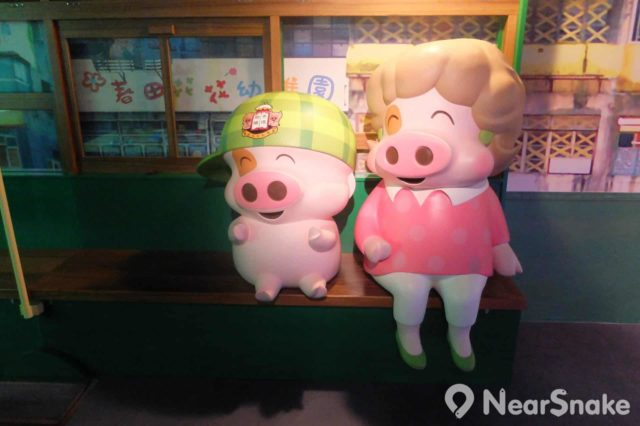 論可愛的動漫人物,香港代表麥兜與麥太又豈可缺席。