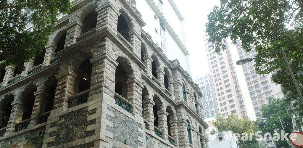 西營盤社區綜合大樓(西營盤舊精神病院/高街鬼屋) 新外貎一覽