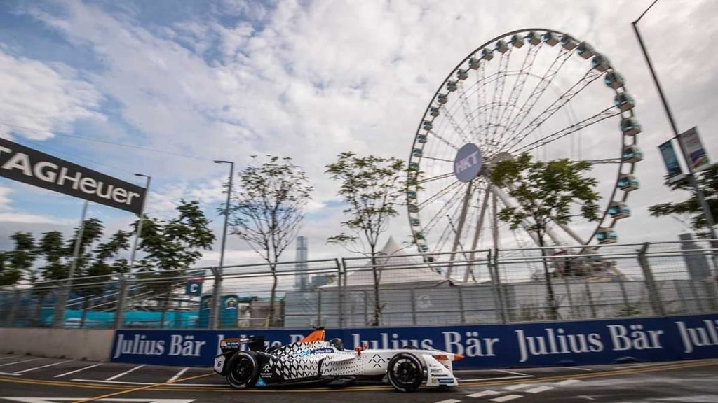 Formula E 賽車將於闖入香港中環街道上飛馳。