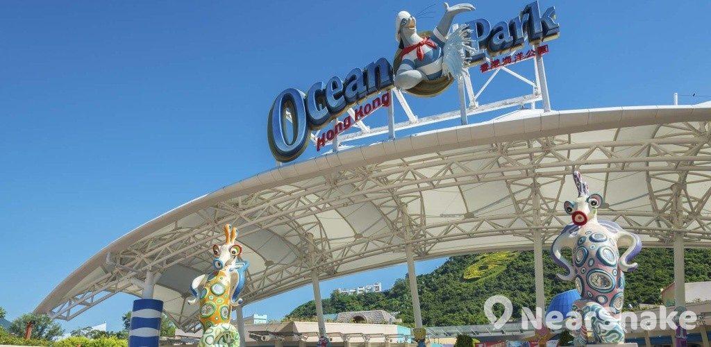 香港海洋公園 新外貎一覽