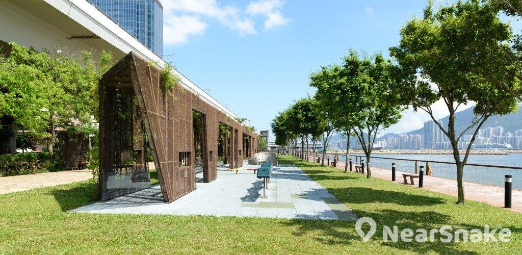 觀塘海濱花園 新外貎一覽