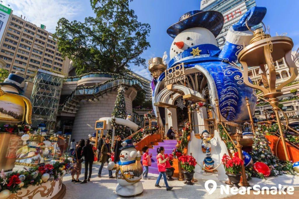每年聖誕節,1881 均會設置各式各樣的大型聖誕裝飾,增添聖誕氣氛。