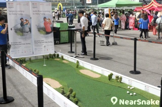 跑馬地馬場: 小遊戲攤檔在「嘉年華會」式活動中內自然不可缺少。