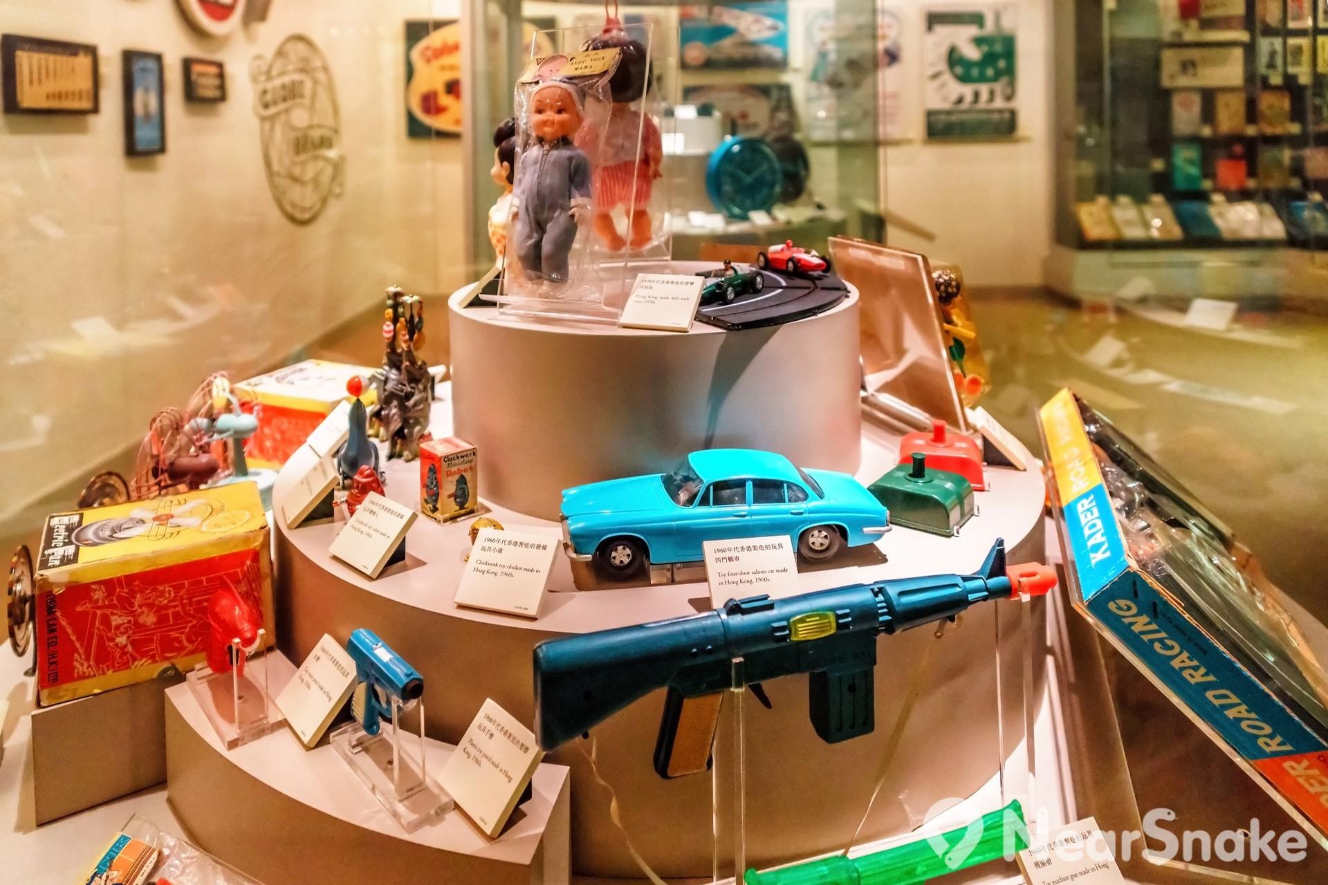 除嚴肅的歷史展品外,香港歷史博物館亦曾展出香港懷舊玩具等有趣展品。