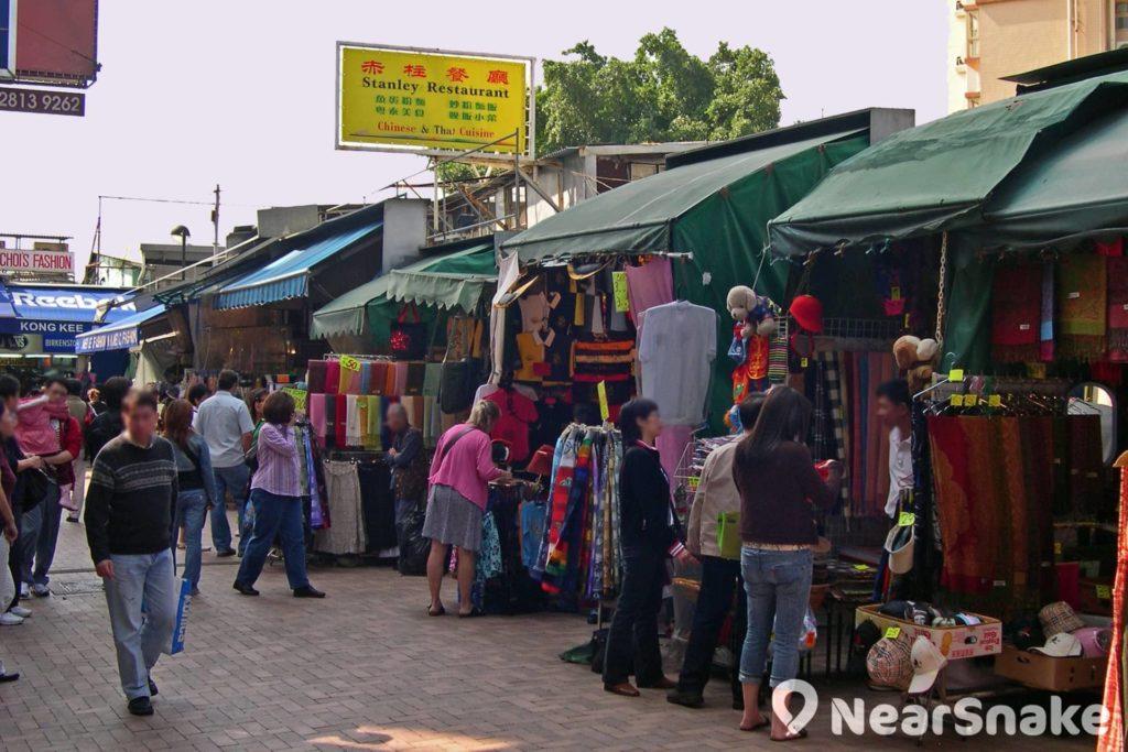 原來赤柱市場內隱藏著不少餐廳食肆。