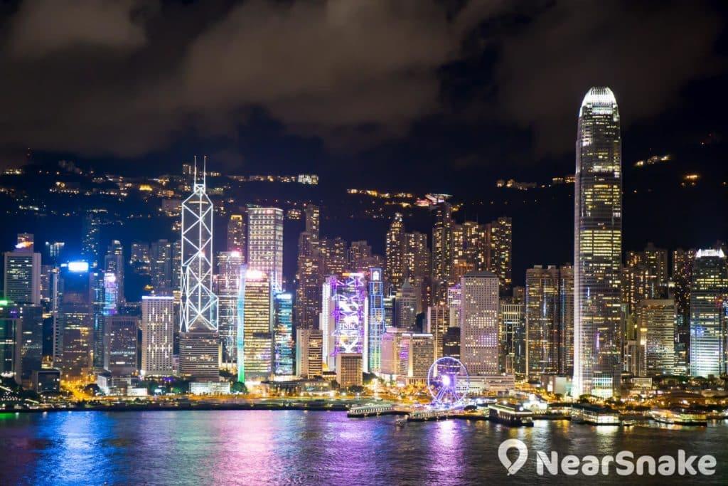 外形獨特的中銀大廈,香港中環天際線上顯得別樹一格。