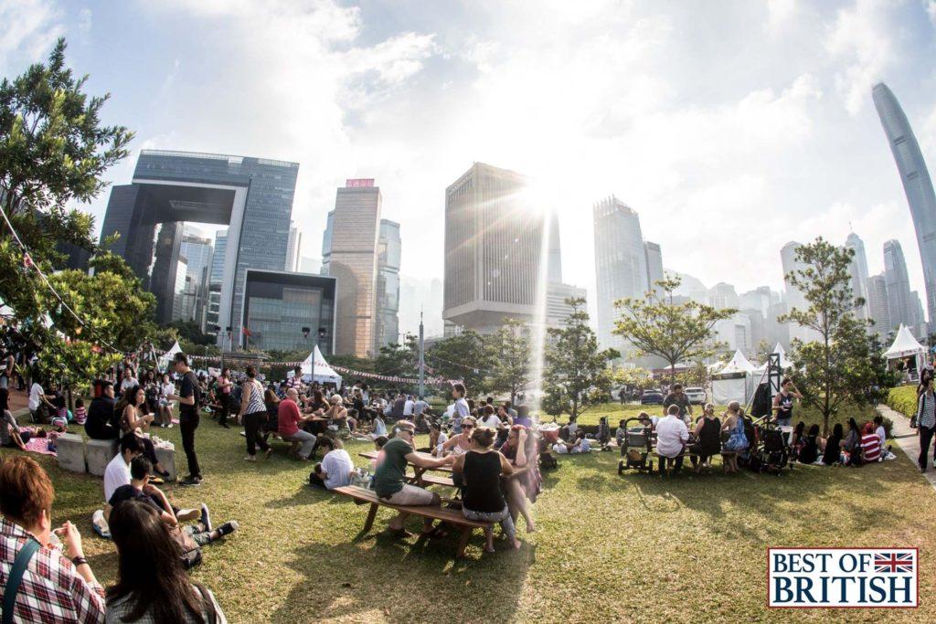 香港英國文化節(Best of British 2017)將於 12 月 11 - 17 日假添馬公園舉行。