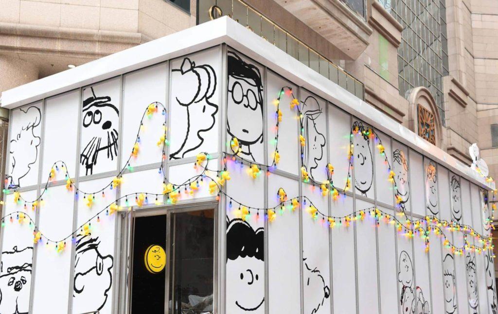 銅鑼灣時代廣場「史諾比在時代廣場過聖誕」展覽及影相館為 Snoopy 粉絲們精心預備一幕幕經典片段。