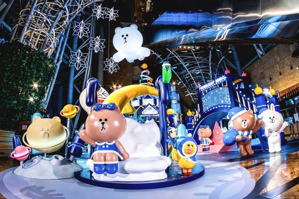 "朗豪坊 2017 聖誕活動:LINE FRIENDS ""Christmas Planet"""