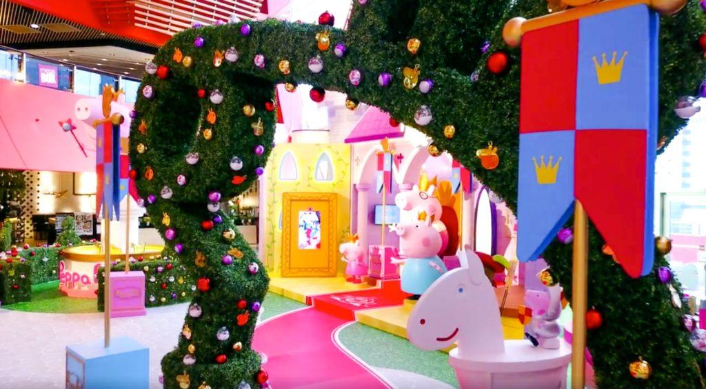 「Megabox x Peppa Pig 閃亮聖誕城堡(Sparkling Christmas Castle 2017)」聖誕喜慶活動為期至翌年元旦。