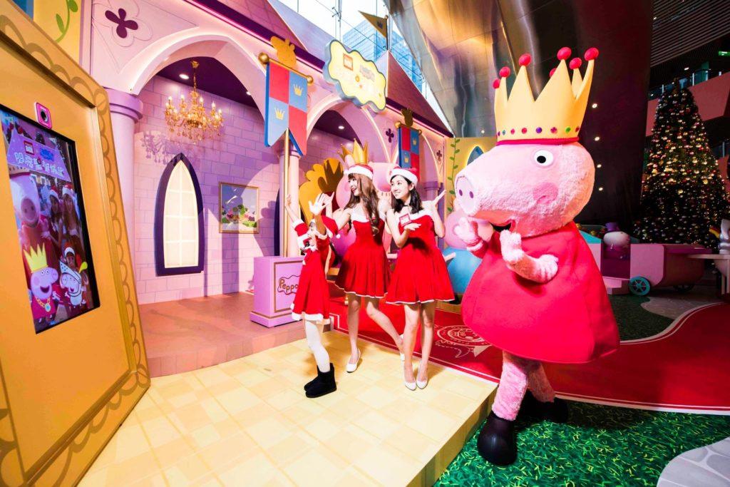 Megabox x Peppa Pig 閃亮聖誕城堡 Sparkling Christmas Castle 2017