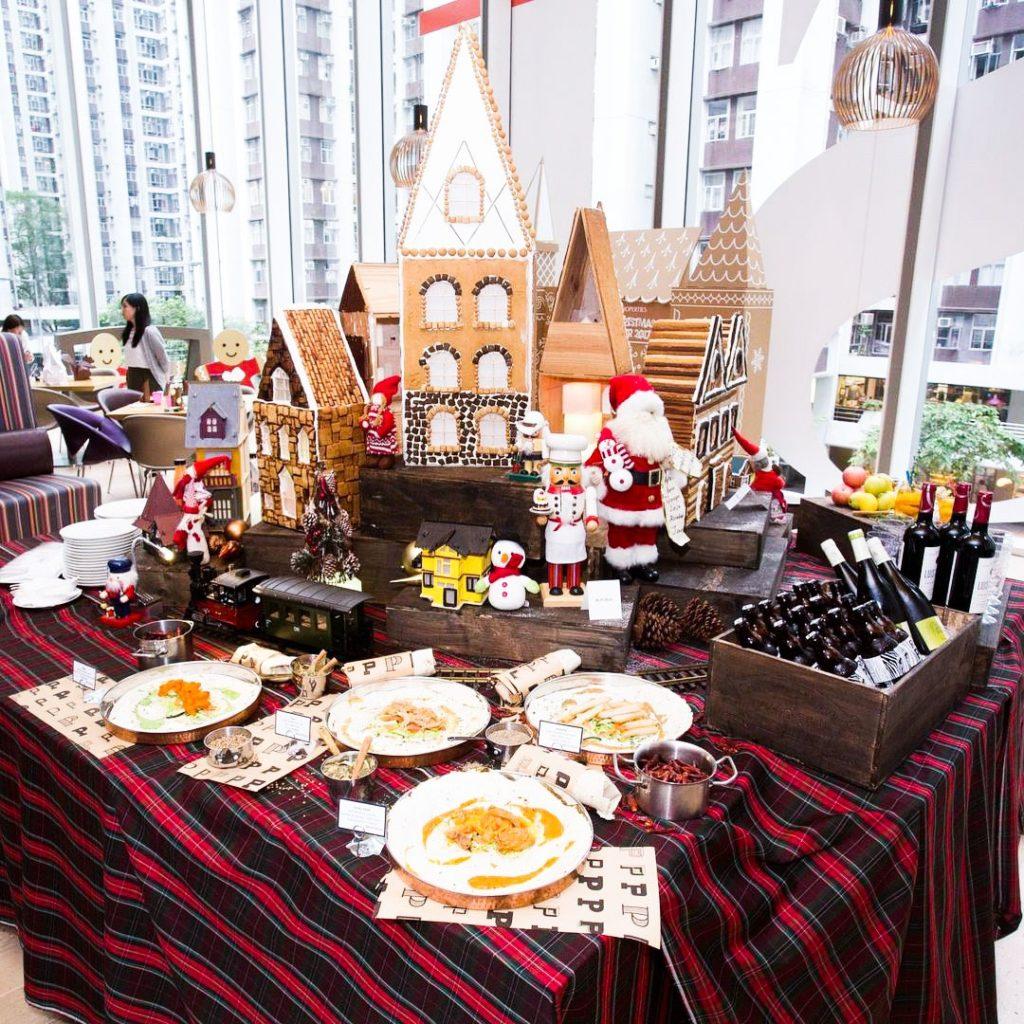 太古地產旗下的酒店和餐廳為市集炮製精緻聖誕美食。