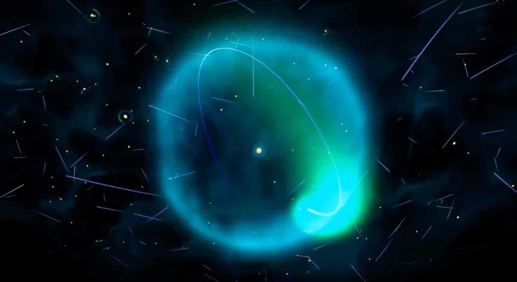"""「大爆炸宇宙論(The Big Bang Theory)」是目前最為科學界接納解釋萬物從何而來的理論,大約在 138 億年前,宇宙內的所存物質和能量都聚集在一起,濃縮成很小的體積,溫度極高,密度也大,當這點不能再承受自身的壓力,便開始它前所未有的高速膨脹,亦即是「宇宙大爆炸」。(圖片翻攝自 <a href=""""https://www.youtube.com/watch?v=o4mT-wVRIz0"""">香港太空館 YouTube 頻道</a>)"""