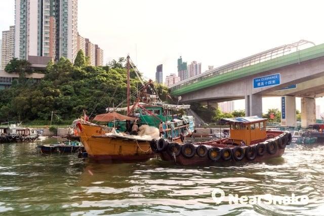 香港仔避風塘 縮圖