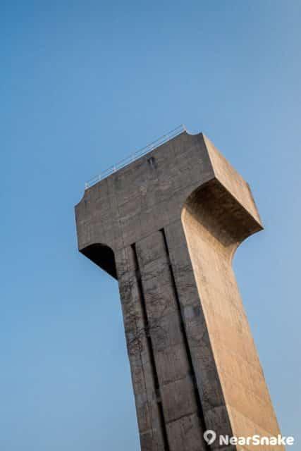 水塔已被視為香港中文大學校園的地標了。