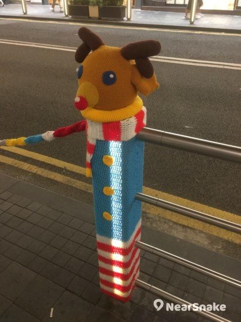 Fashion Walk:不用幫聖誕老人拉雪橇的聖誕鹿,一副呆萌模樣,同樣討人歡喜。