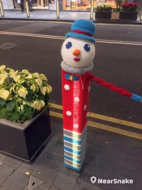 Fashion Walk:還是戴著藍色帽子、插著尖尖的胡蘿蔔鼻子的聖誕雪人可愛一點?