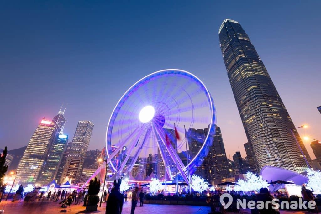 香港摩天輪鐵定於 2017 年 12 月 20 日重開。