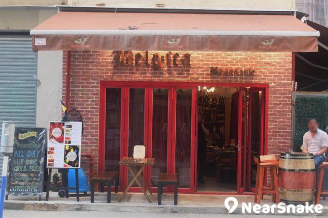 西環新蘇豪區:吉席街上當然少不了西餐館如比利時餐廳「Belgica」。