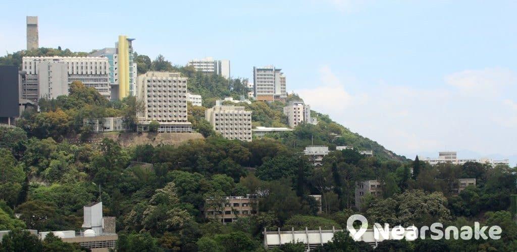 香港中文大學校園一覽