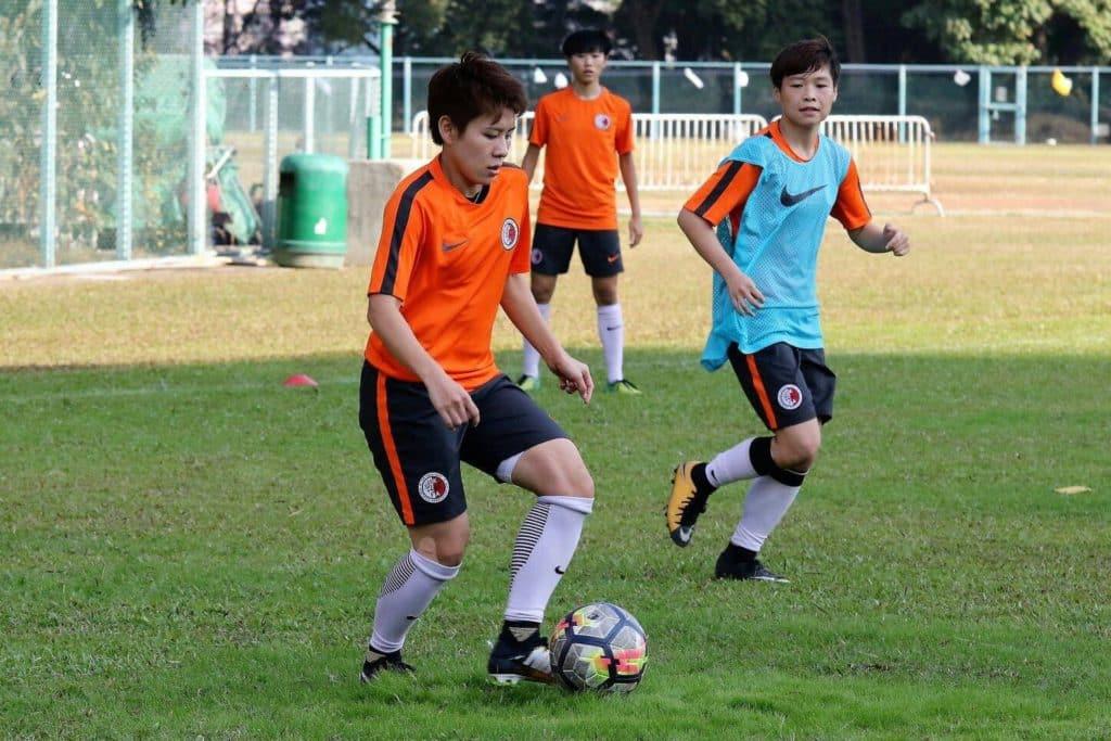 香港女子代表隊為省港盃積極備戰。