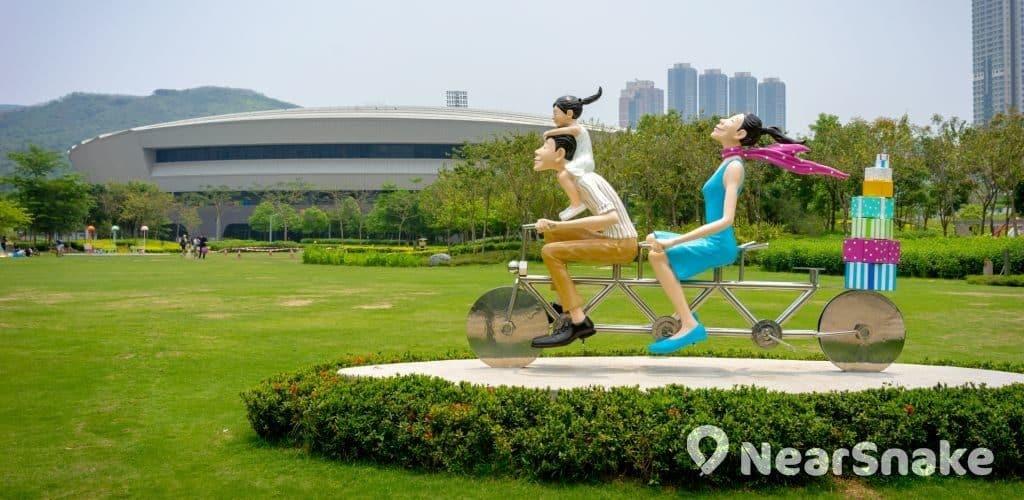 香港單車館公園 全新外貎一覽