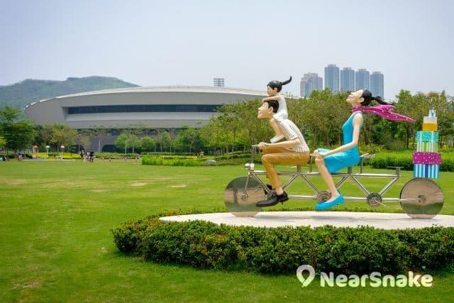 香港單車館公園 全新縮圖