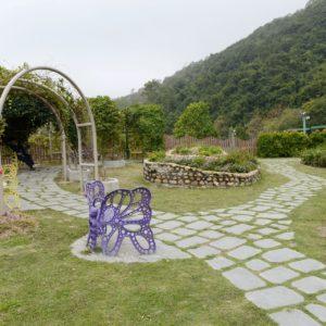 自然保育園地是佐敦谷公園內其中一個園景設施,也是情侶談心的好地方。