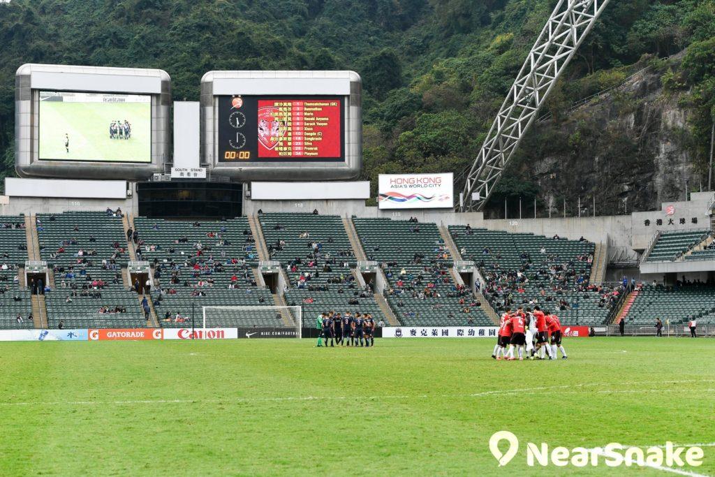 近年香港賀歲盃足球賽均在香港大球場舉行。