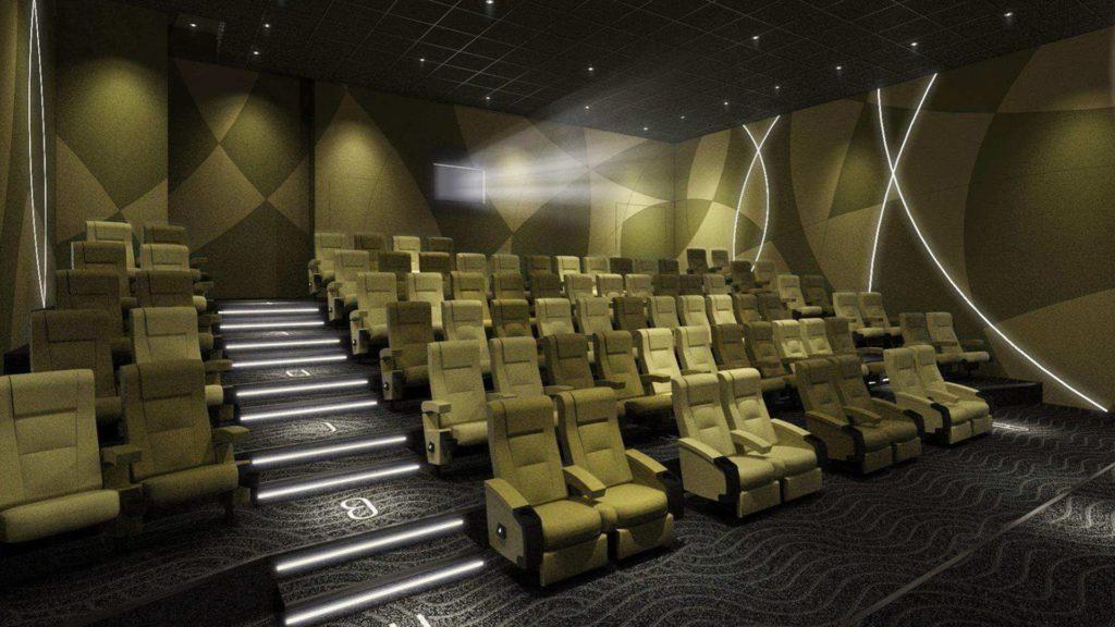 UA Maritime 電影院總內設 6 間影院,合共提供 663 個座位。