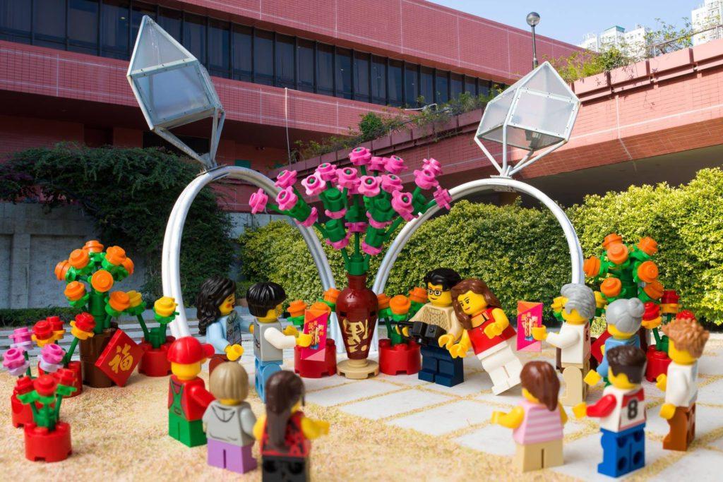 LEGO minifigures 沙田地標景點:沙田婚姻註冊處