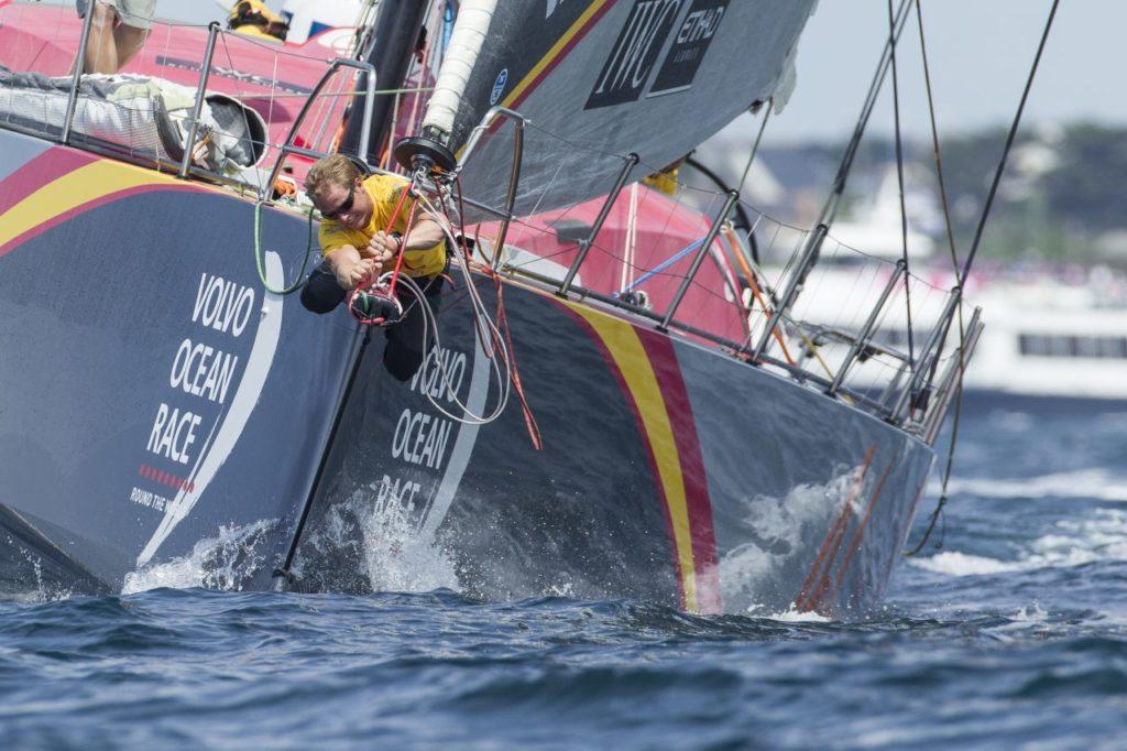 Volvo Ocean Race 環球帆船賽參賽船隊從西班牙阿利坎特出發,香港為第 5 分站,終點則是荷蘭海牙。