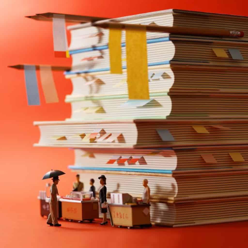 日本著名微型作品設計師田中達為配合情人節和農曆新年,製作 32 個朱古力微型場景。